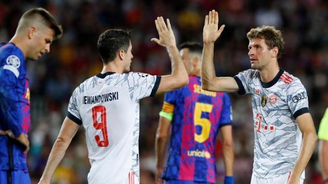 من جديد.. بايرن يقسو على برشلونة بثلاثية بدوري أبطال أوروبا