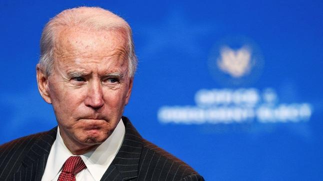 إصابة الرئيس الأميركي المنتخب جو بايدن بكسور في قدمه.. وترامب يتمنى له الشفاء