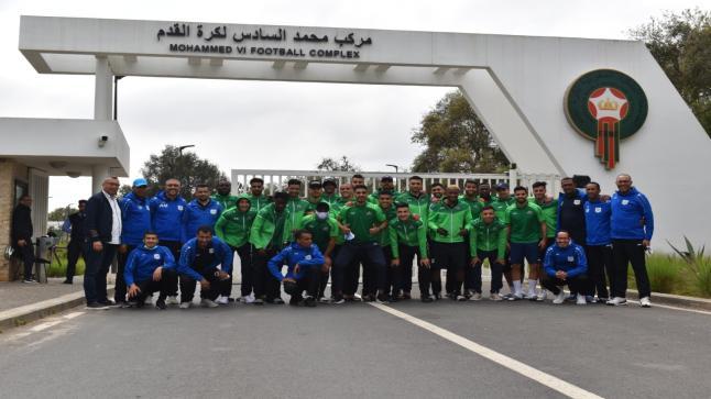 فريق الدفاع الحسني الجديدي يُجري فحصا طبيا بمركز محمد السادس لكرة القدم